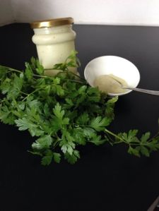 Homemade mayonaise